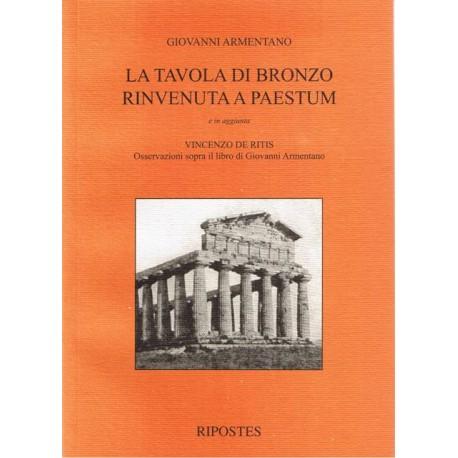 La tavola di bronzo rinvenuta a Paestum